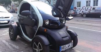 Ein Renault Twizy macht richtig Spaß