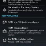 werbefreier ROM Manager