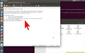 Privacy Extension Ubuntu